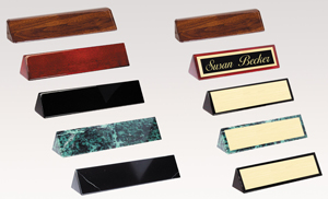 nameplates for any desk or office